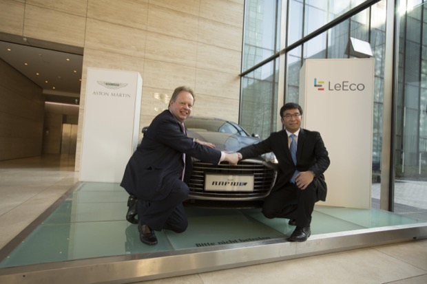 Aston Martin and LeEco partner to co-develop electric vehicle