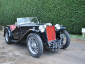 Classic 1938 MG TA Patrol Car To AUction