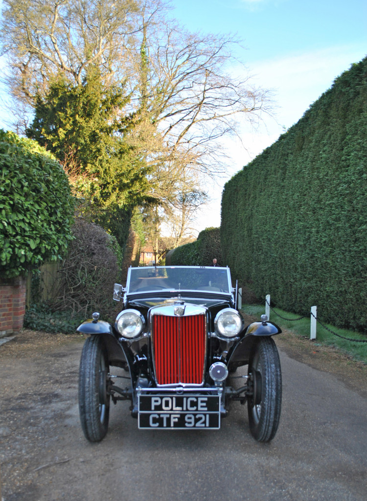 Classic 1938 MG TA Patrol Car To Auction
