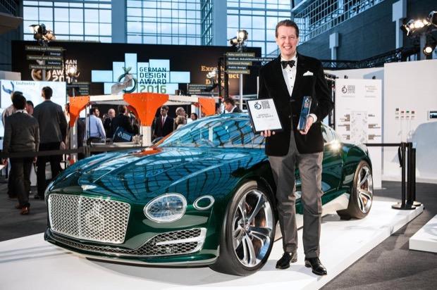 EXP 10 Speed 6 Receives Gold at German Design Award