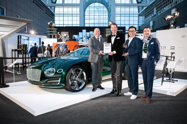 EXP 10 Speed 6 Receives Gold at German Design Awards 2