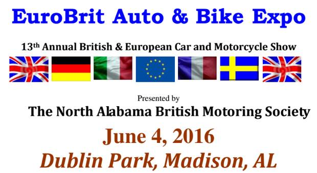 EuroBrit Auto Bike Expo - Dublin Park, Madison, Alabama