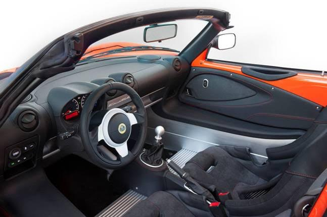 Lotus Ellise Interior