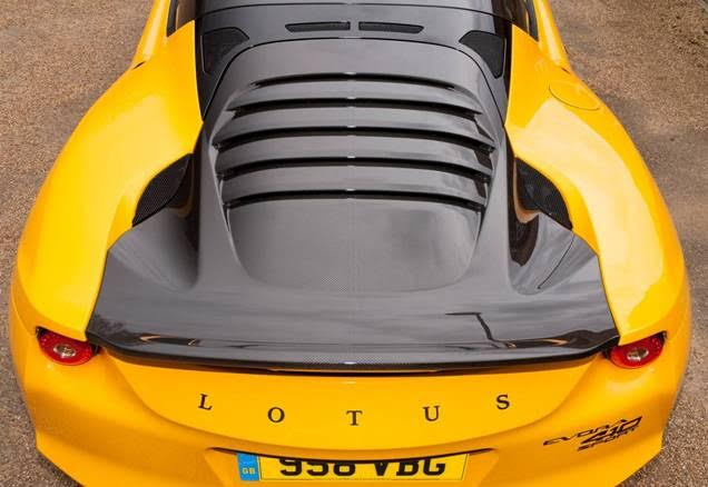 Lotus Evora Sport 410 Tail