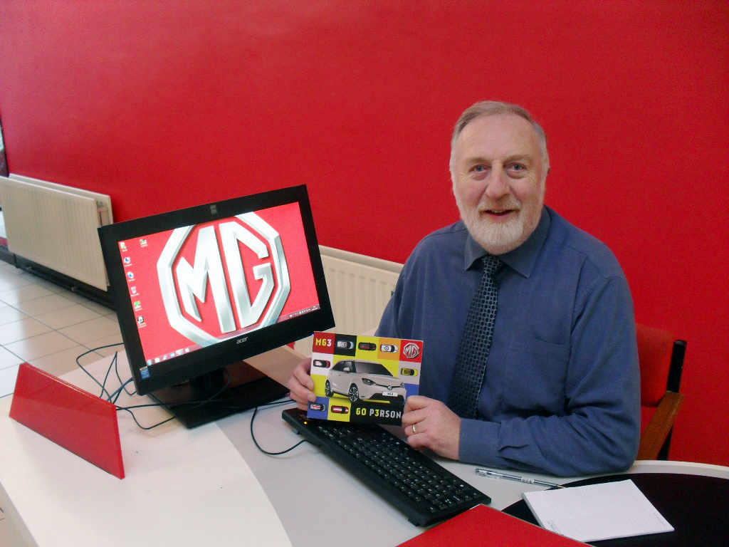 MG ADDS NORTHERN IRELAND DEALER TO THE BOOKS - John Martin, Dealer Principal of TM Martin and Son