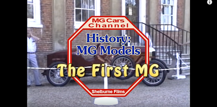 MG Car Channel - The First MG