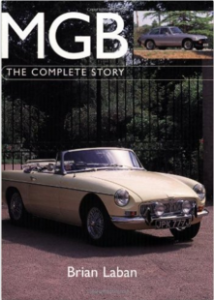 MGB: The Complete Story by Brian Laban