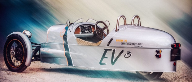 Morgan to Debut EV3 Electric 3-Wheeler at Geneva Motor Show