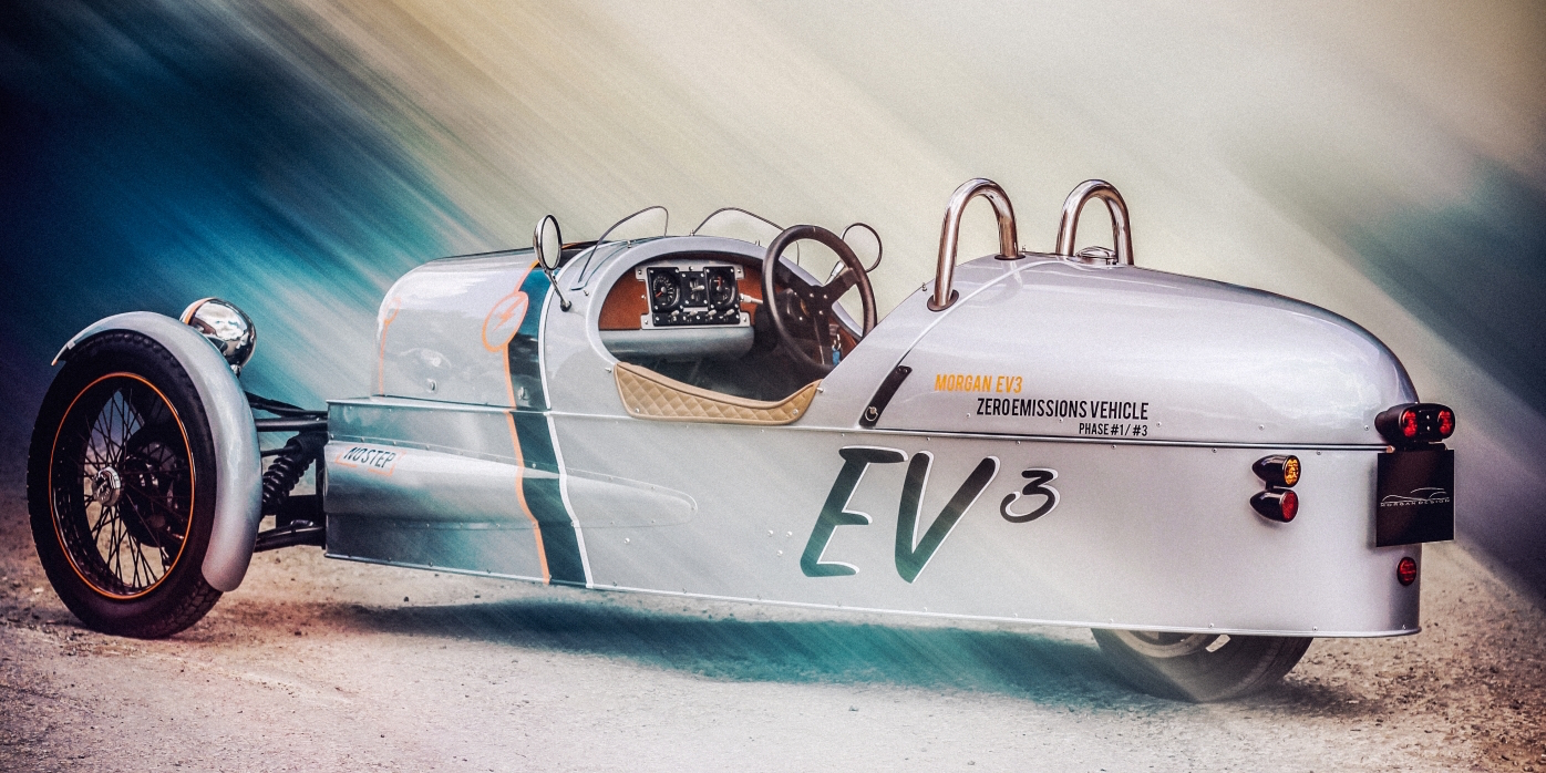 Morgan to Debut Electric 3-Wheeler at Geneva Motor Show