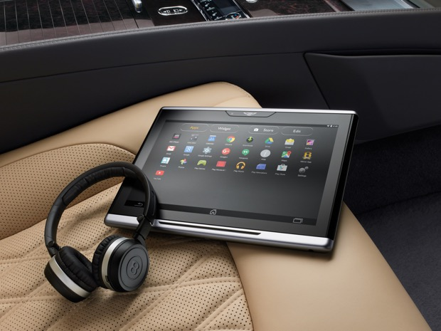 New Mulsanne EWB - Android Tablet Controls