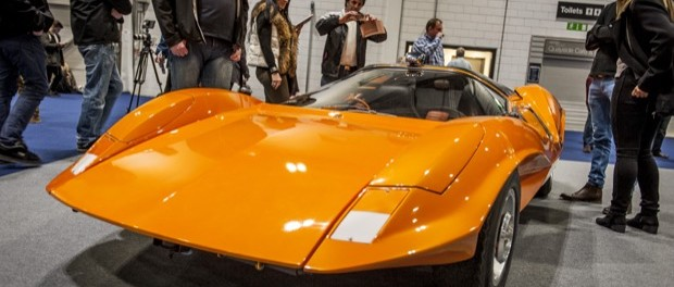 Probe 16 on the Marcos Owners Club stand
