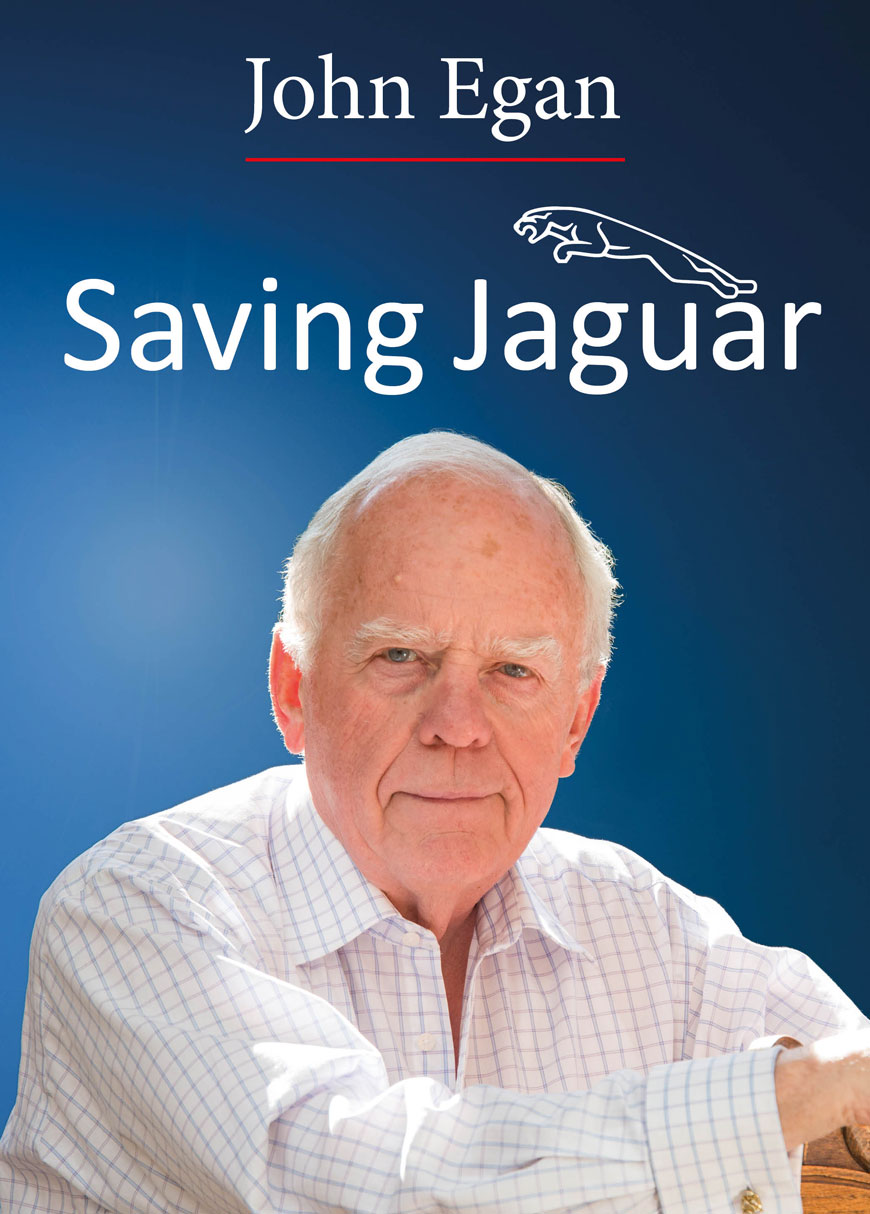 Saving Jaguar by John Egan