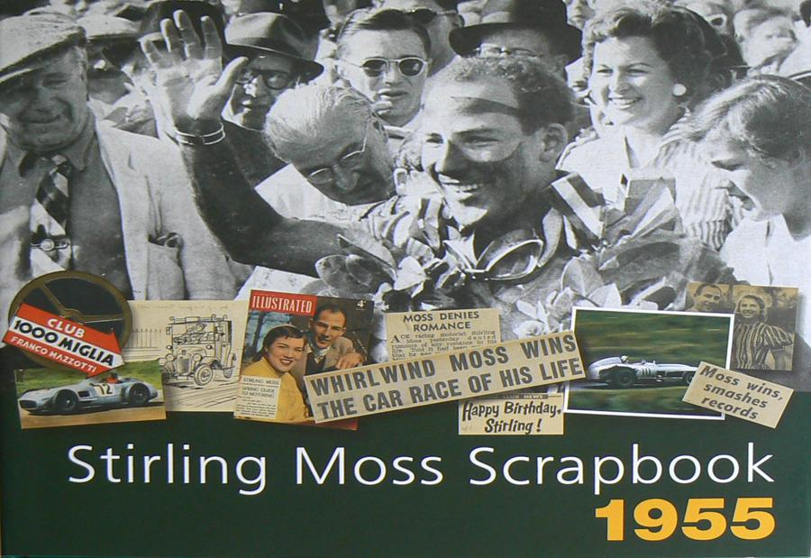 Stirling Moss Scrapbook 1955 - Contest Give-Away
