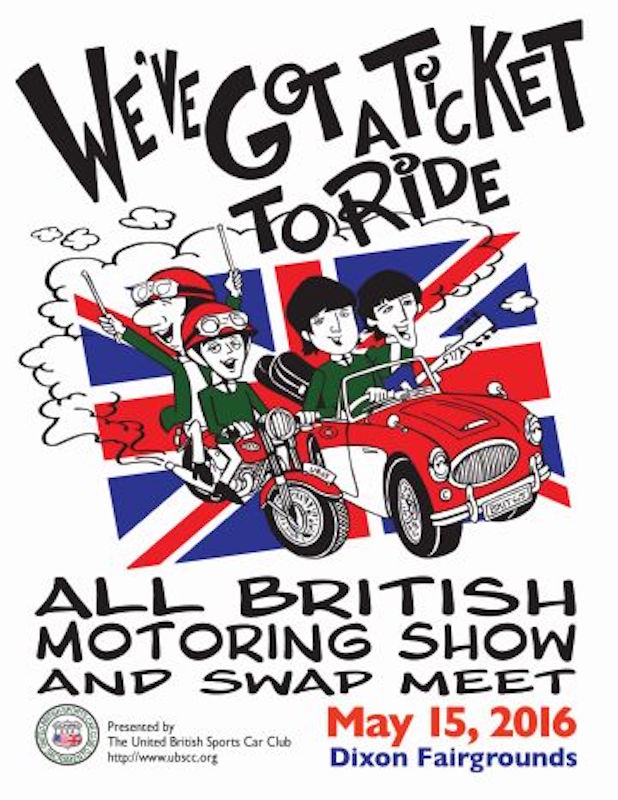 The Annual All British Motor Vehicle Show and Swap Meet Sacramento