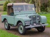 1948 Land Rover Series I Chassis 149 Side Plate Engine HR