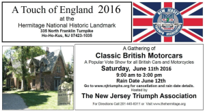 A Touch of England - New Jersey
