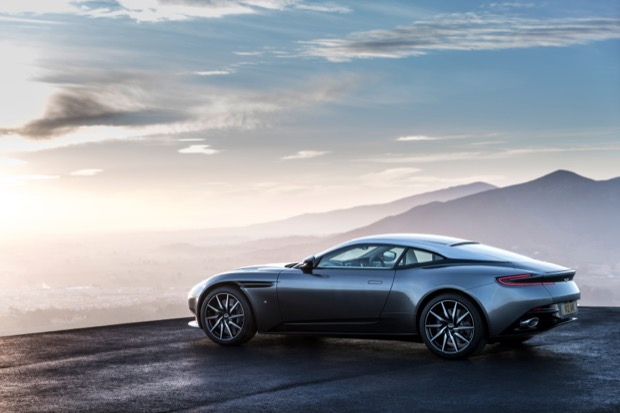 Aston Martin unveils the DB11