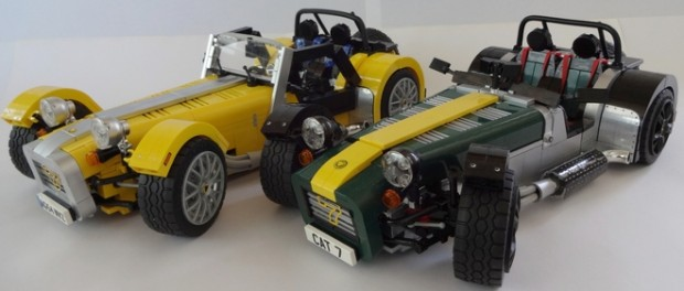 Caterham Super Seven Coming to LEGO