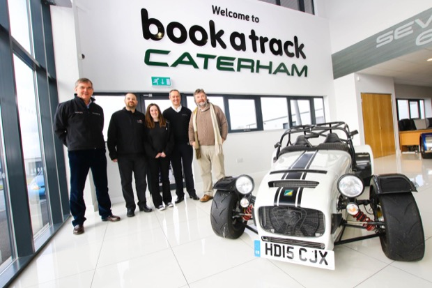 Caterham celebrates the launch of its new dealership at Donington - Interior