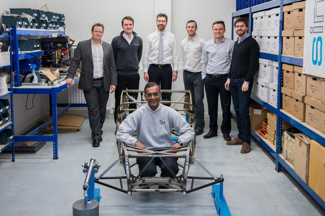 Cycle Tech Delivers Lightweight Chassis for Caterham