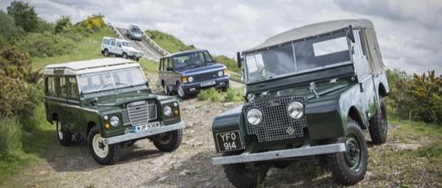 Jaguar Land Rover Classic Range