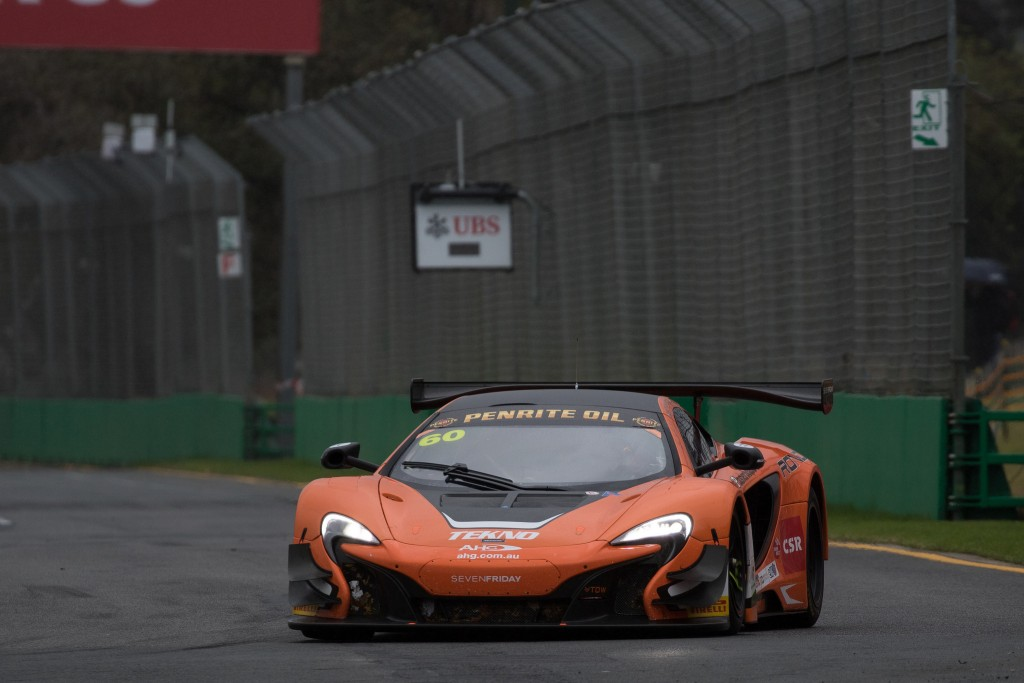 McLaren 650S GT3 enjoys further success on Melbourne debut