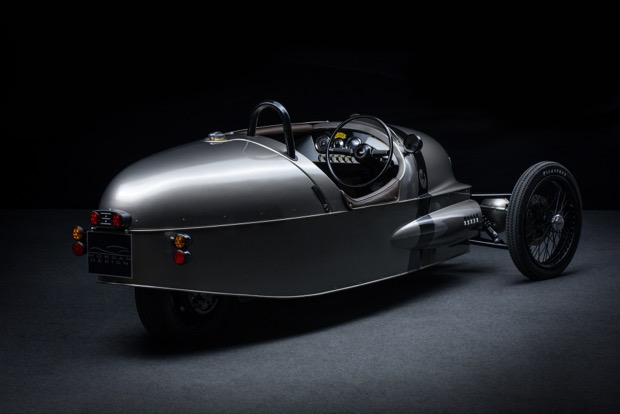 Morgan Launches EV3 Electric Three-Wheeler - Rear 34
