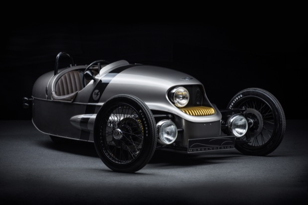 Morgan Launches EV3 Electric Three-Wheeler