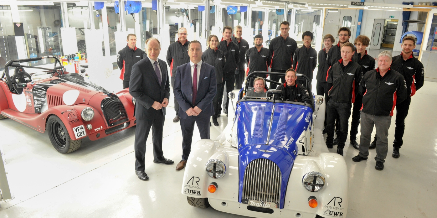PARTNERSHIP BETWEEN MORGAN MOTOR COMPANY AND UNIVERSITY OF WOLVERHAMPTON