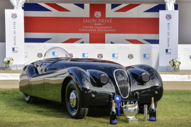 Salon Prive 2015 - Jaguar XK120 'Jabbekke' - Max Earey