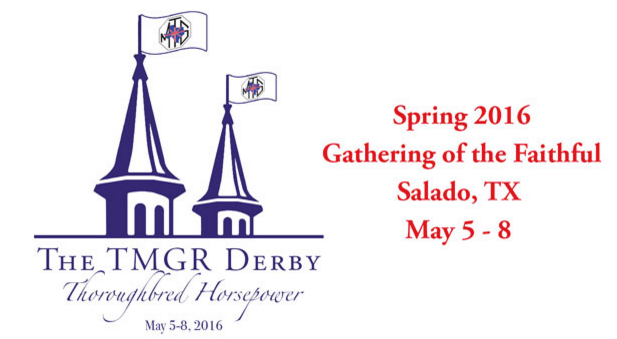 Texas MG Register Spring Gathering of the Faithful