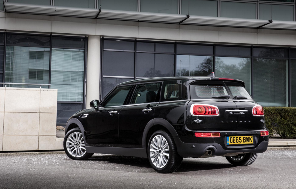 The new MINI One D Clubman - Rear