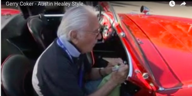 Gerry Coker on Austin Healey Style
