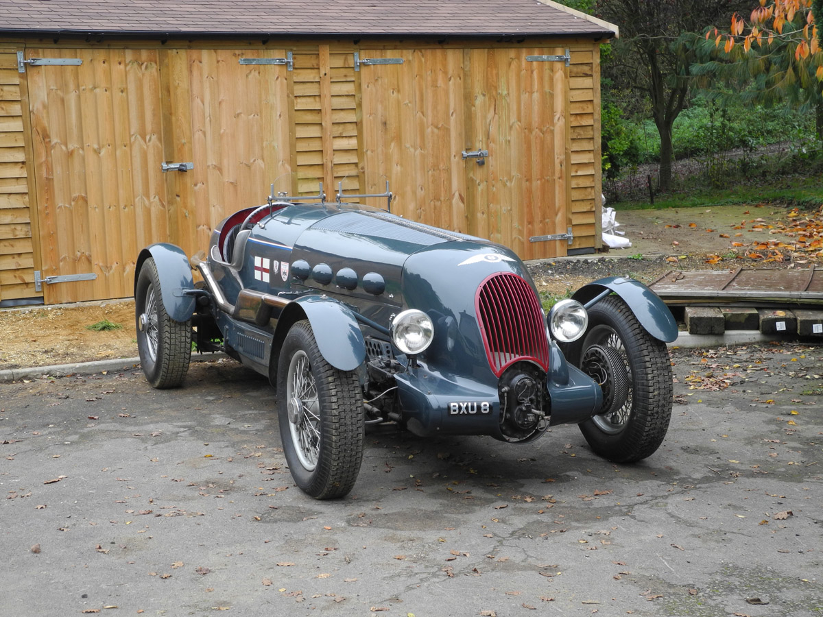 1936 Bentley-Royce 8 Litre V12 Supercharged Special