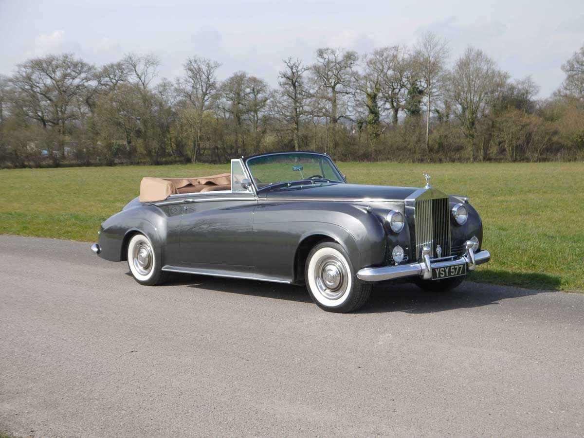 1962 Rolls-Royce Silver Cloud II Drophead Coupe at Coys