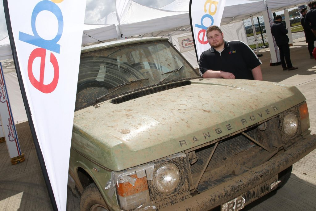1982 Range Rover to be restored with parts from eBay Motors with Fergus Walkinghaw 2