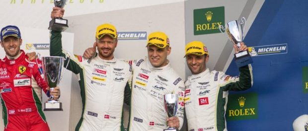 ASTON MARTIN RACING TAKES DOUBLE PODIUM AT FIA WEC SEASON OPENER 4