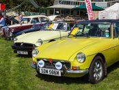 Beaulieu Simply Classics and Sports Car MG club display