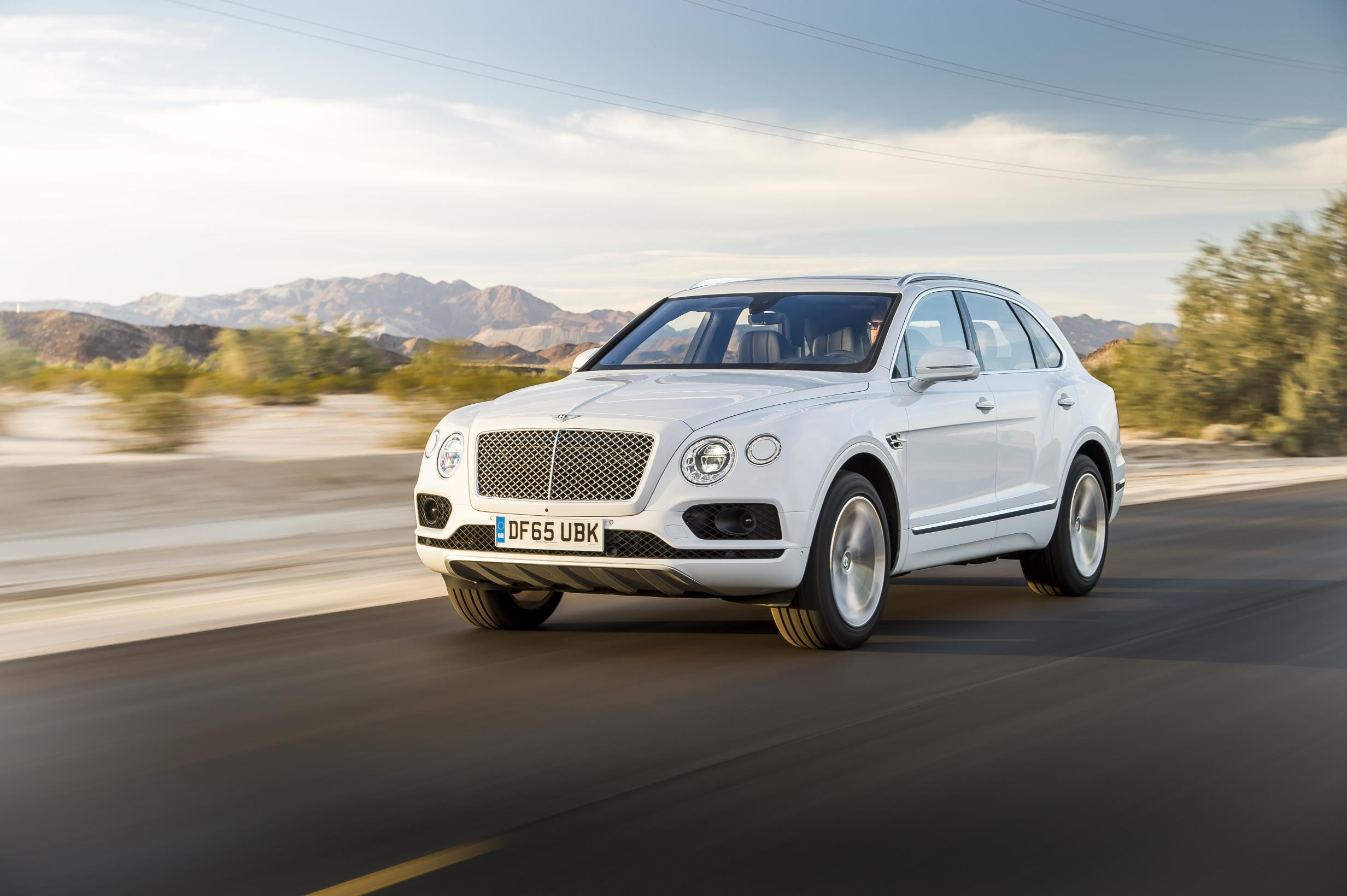 Bentley's Bentayga has been named SUV of the Year by Robb Report UK.