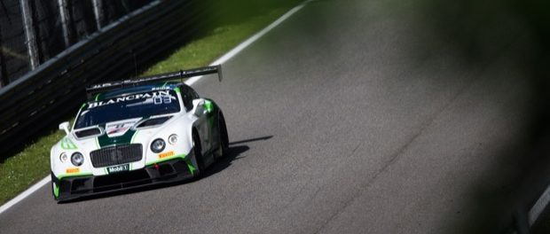BENTLEY TAKES BLANCPAIN GT SERIES PODIUM IN MONZA - THE NUMBER 8 BENTLEY CONTINENTAL GT3