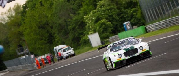 Bentley Takes Blancpain GT Series Podium in Monza