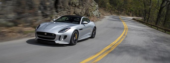Jaguar F-TYPE Honored With 2016 Vincentric Best Value in America Award