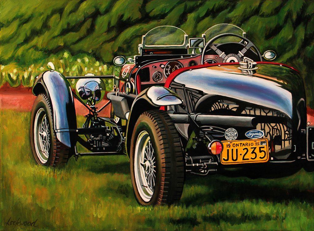 Lory Lockwood 1935 Aston Martin Lagonda Hershey L7