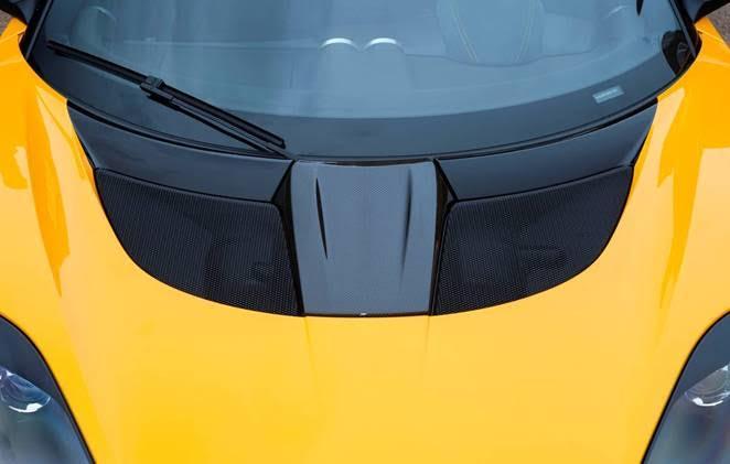 Lotus Evora Sport 410 carbon fibre panels