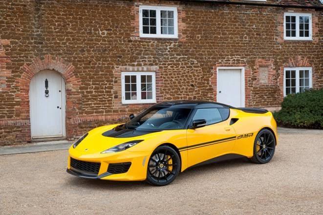 Lightweight Lotus Evora Sport 410