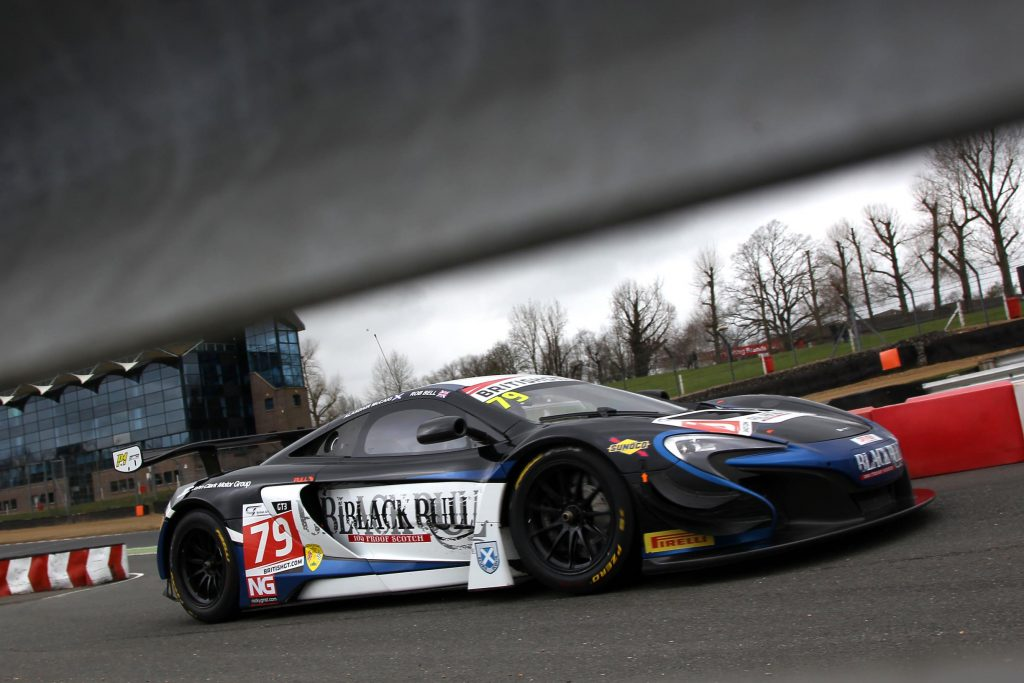 McLaren 650S GT3 in the British GT Championship