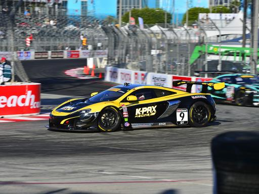 McLaren 650S GT3 Takes Victory In Long Beach