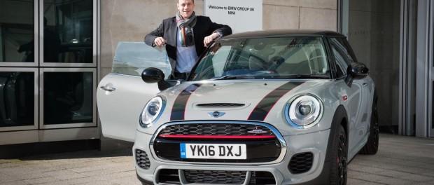 Mini UK new motorsports ambassador Charlie Butler-Henderson