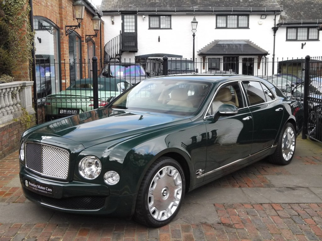 QUEEN'S BENTLEY GOES UP FOR SALE ON AUTO TRADER