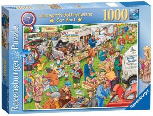 Ravensburger - The Car Boot Sale 1000 Piece Jigsaw Puzzle